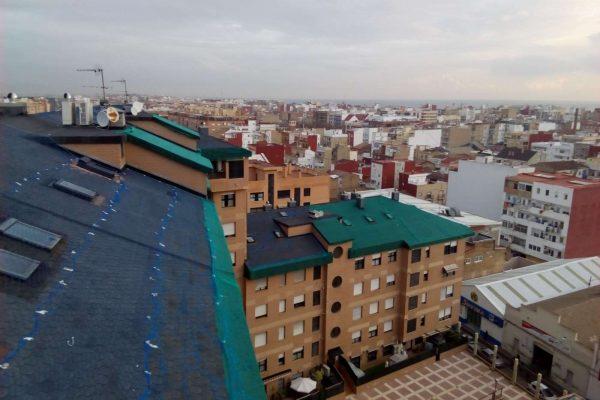 Rehabilitacion de Edificios Tejados